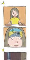 Brain activity by zumart
