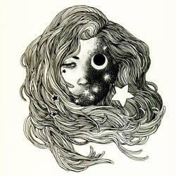 Moon Eye by zumart