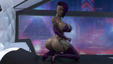 Cyberbutt 2077 by Lanif-Angelkiss
