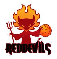 Red Devils - logo by Davida