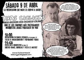 Cartel Presentacion de Tiras Ciclicas by Davida