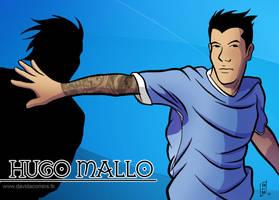 Hugo Mallo by Davida
