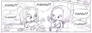 Piedra, pape, tijera by Davida