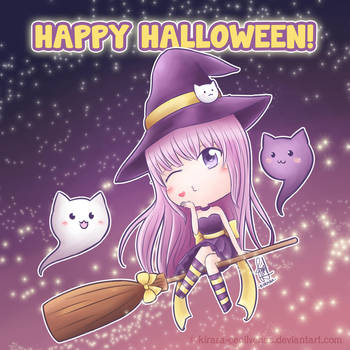 Happy Halloween ^^ by Kirara-CecilVenes