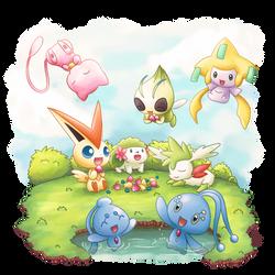 Mini Legendaries by Kirara-CecilVenes