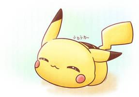 Chibi Pikachu by Kirara-CecilVenes
