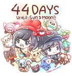 Pokemon Sun Moon Countdown by Kirara-CecilVenes