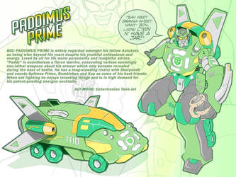 Paddimus Prime by PlanetDann