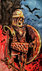 Skeleton Warrior by eirikr121