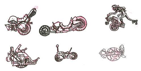 Wastelander Light Craft Concepts by lightningdogs