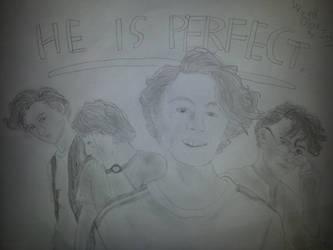 Wyatt Oleff Fan Art (He is perfect) by zahadyozivaji