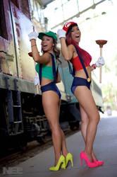 Super Mario Sisters 2 by pumpuma