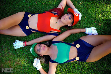 Super Mario Sisters 4 by pumpuma