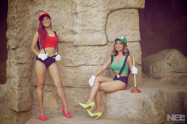 Super Mario Sisters 5 by pumpuma