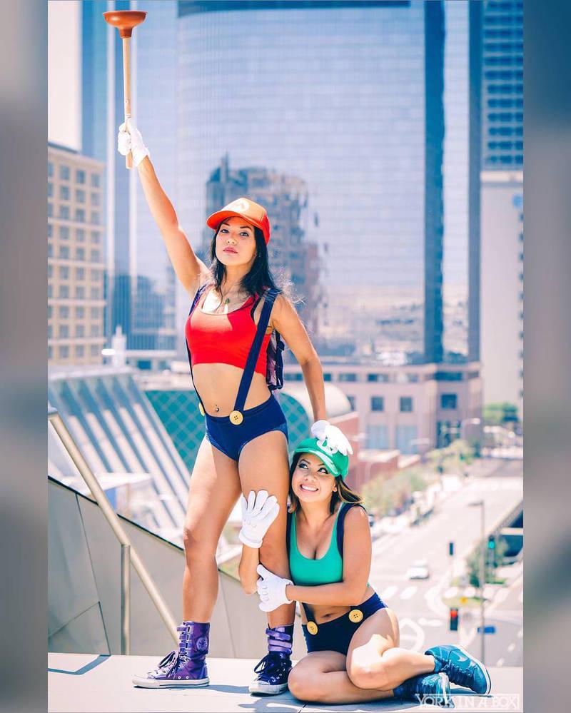 Super Mario Sisters 7 by pumpuma