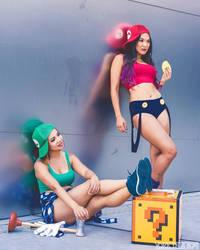 Super Mario Sisters 8 by pumpuma