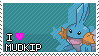 I Heart Mudkip Stamp by Kevfin
