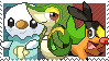 5th Gen Starters Stamp by Kevfin