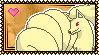 Ninetales Stamp by Kevfin