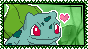 001 Bulbasaur Stamp by Kevfin