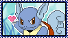 008 Wartortle Stamp by Kevfin