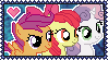 Cutie Mark Crusaders Stamp by Kevfin
