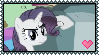 MLP Rarity and Tom Stamp by Kevfin