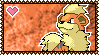 PokeStamps 58 : Growlithe by Kevfin