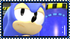 Sonic Meh Face Stamp by Kevfin