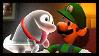 Luigi's Mansion : Dark Moon - Luigi and Polterpup by Kevfin