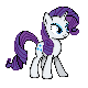 MLP Sprites S2 - Rarity by Kevfin