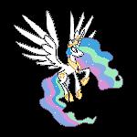 MLP Sprites S2 - Princess Celestia by Kevfin