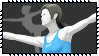 Super Smash Bros Wii U Stamp Series - Wii Fit by Kevfin