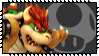 Super Smash Bros Wii U Stamp Series - Bowser by Kevfin