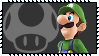 Super Smash Bros Wii U Stamp Series - Luigi by Kevfin