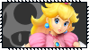 Super Smash Bros Wii U Stamp Series - Peach by Kevfin