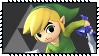 Super Smash Bros Wii U Stamp Series - Toon Link by Kevfin