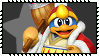 Super Smash Bros Wii U Stamp Series - King Dedede by Kevfin