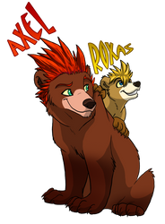 KH Brother Bear Style by Nightrizer