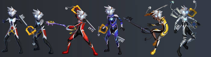 Sora Ultra Forms by Nightrizer