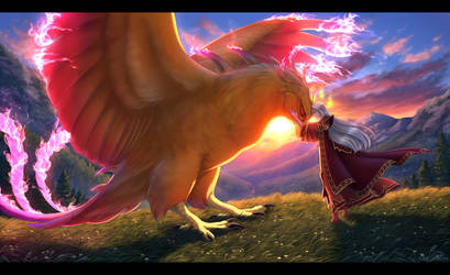 Companions - speedpaint link added! by Nightrizer