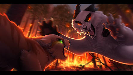 Fury and Ashes by Nightrizer