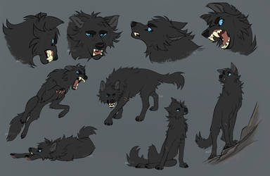 Shadow Sketch Page by Nightrizer