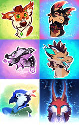 Icons Batch One by Nightrizer