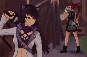[RWBY Comm:] Strained by CHE3ZY