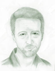 Edward Norton by faust3000