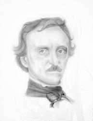 Edgar Allan Poe by faust3000
