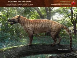 Mesonyx obtusidens by RomanYevseyev
