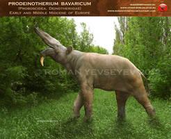 Prodeinotherium bavaricum by RomanYevseyev