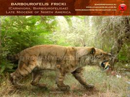 Barbourofelis fricki by RomanYevseyev
